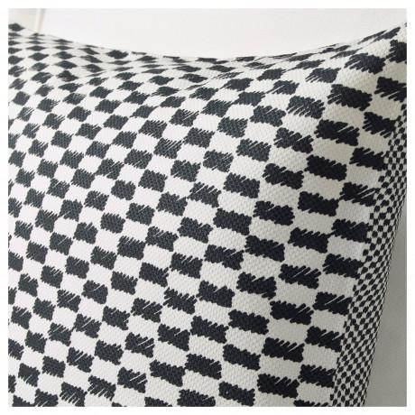 Чехол на подушку ЮППЕРЛИГ черный/белый фото 2