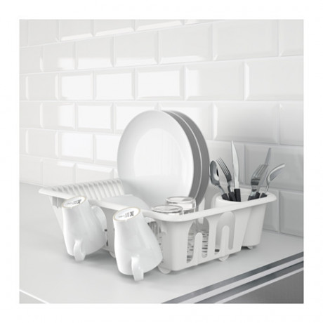Сушилка посудная ФЛЮНДРА белый фото 1